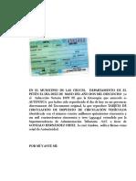 AUTENTICA DE TARJETA DE CIRCULACION DE VEHICULOS.doc