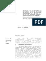 Proyecto de Ley enviado por el Presidente que modifica la Ley Antiterrorista