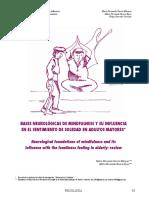 Dialnet BasesNeurologicasDeMindfulnessYSuInfluenciaEnElSen 5615650 Copy