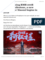 After Crossing RMB 100B Revenue Milestone, A New Journey for Xiaomi Begins in 2018 – Mi Blog (1)