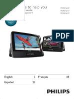 pd9016 portable dvd player
