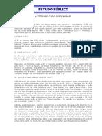 11-A FÉ APLICA A VERDADE PARA A SALVAÇÃO.doc