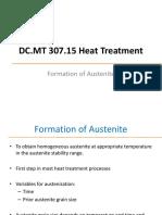 2 Formation of Austenite