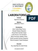 Laboratorio 2 Fisica 2