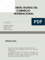 diferentes teorias del comercio internacional