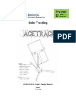 project design binder solar tracking