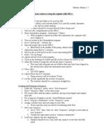 Quick Guide to Using the Agilent 1100 HPLC - Manju Sharma