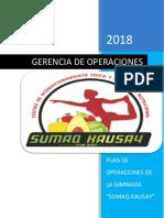 SUMAQ-KAUSAY Plan de Operaciones