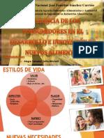 Influencia de Los Consumidores en El Desarrollo e Innovación de Nuevos Alimentos