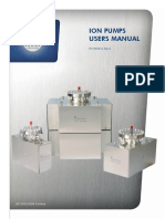 Gamma Ion Pump Manual