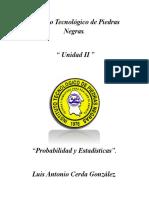 Unidad 2 Probabilidad y Estadistica ITPN
