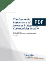 TAI report - Public Services in Regional NSW