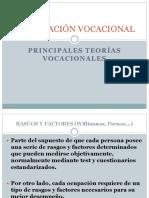 TEORIAS VOCACIONALES