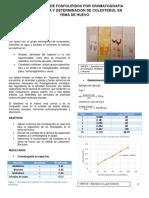 Fosfolipidos y Colesterol
