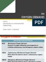 04 Oxygen Demand