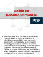 10 Hazardous Wastes