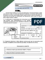 Ficha - 5to Texto Instructivo