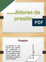 1.2.1 Medidores de Presión