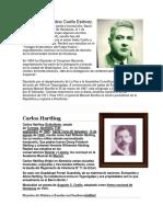 Biografia de Escritores Hondureños}