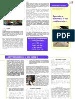 Ansiedade e Rendimento Escolar - Folheto Informativo