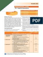 P2-Auditing & Assurance Syllabus