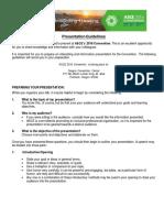 Presentation Guidelines ASCE 2016