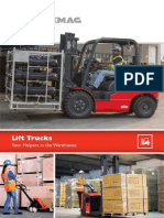 MHE Complete Range of Warehouse Truck