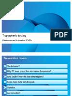 Tropospheric Ducting TDMM