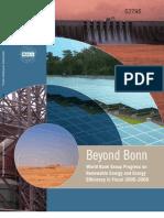 Beyond Bonn