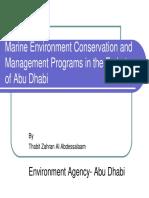 Uae Marine Environment Programs
