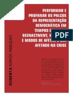 Artigo Performar e Profanar Os Palcos - Pitágoras 500