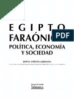Urruela Quesada Jesus - Egipto Faraonico - Politica Economia Y Sociedad