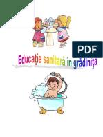 Educatie Sanitara in Gradinita