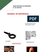 QUIMICA DE MATERIALES