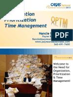 e7 Organization Prioritization Time Management