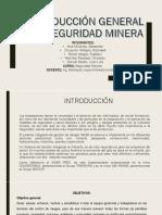 Introduccion a La Seguridad Minera