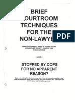 Brief Courtroom Techniques