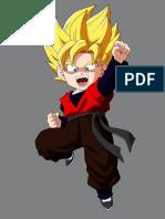 Goku Cinturon Negro