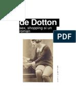 Alain de Botton - Sex, Shopping Si Un Roman - Font 22 - Tahomas