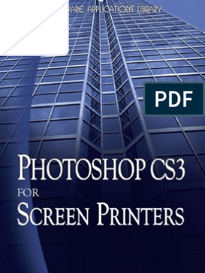 Photoshop for Screen Printers | Computer Graphics | Vision