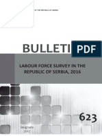 Labour Force Survey in the Serbia 2016
