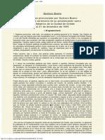 1995 - Gustavo Bueno - Discurso como Hijo Adoptivo de Oviedo