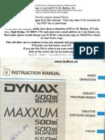 Minolta Maxxum 500si