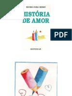 história de amor- livro