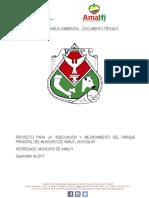 Plan de Manejo Ambiental Parque Amalfi