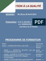 AQ Dans l'ES (Session 1 Constantine Avril 2012)