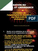 Organisation Du Travail Et Croissance