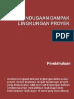 12. Pendugaan Dampak Lingkungan Proyek