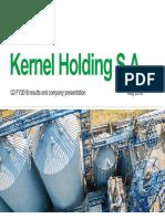 Kernel FY2018 Q3 Presentation