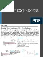 Heat exchanger sample problems